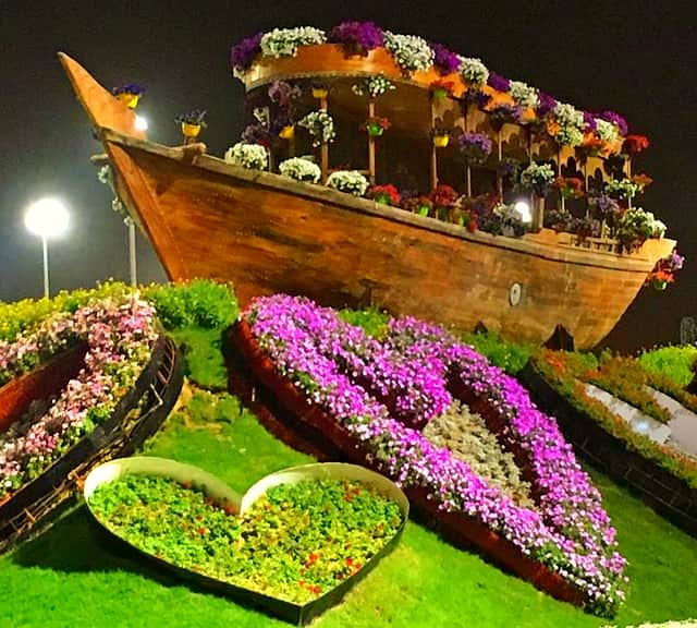 Abra Boats Dubai Miracle Garden