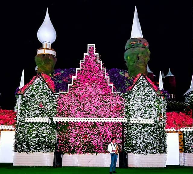 The Floral Auditorium offers real degree of entertainment for its visitors at the Dubai Miracle Garden.