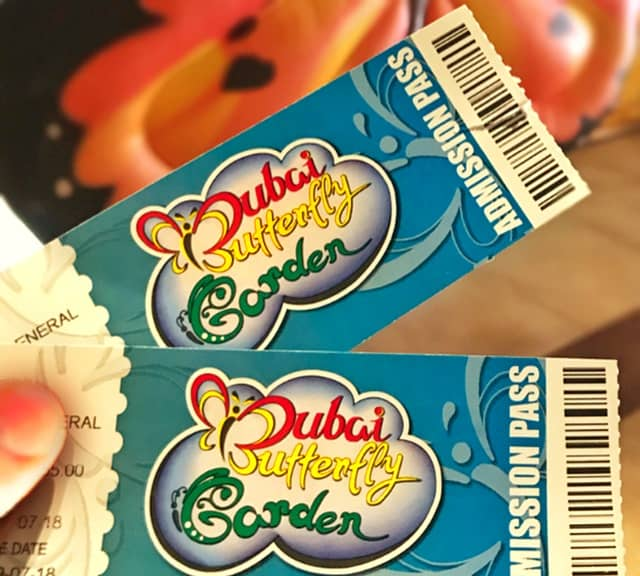 Ticket Price Dubai Butterfly Garden
