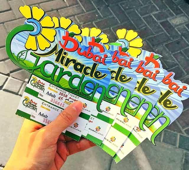 tickets price dubai miracle garden is 45 dirhams - Miracle Garden Dubai
